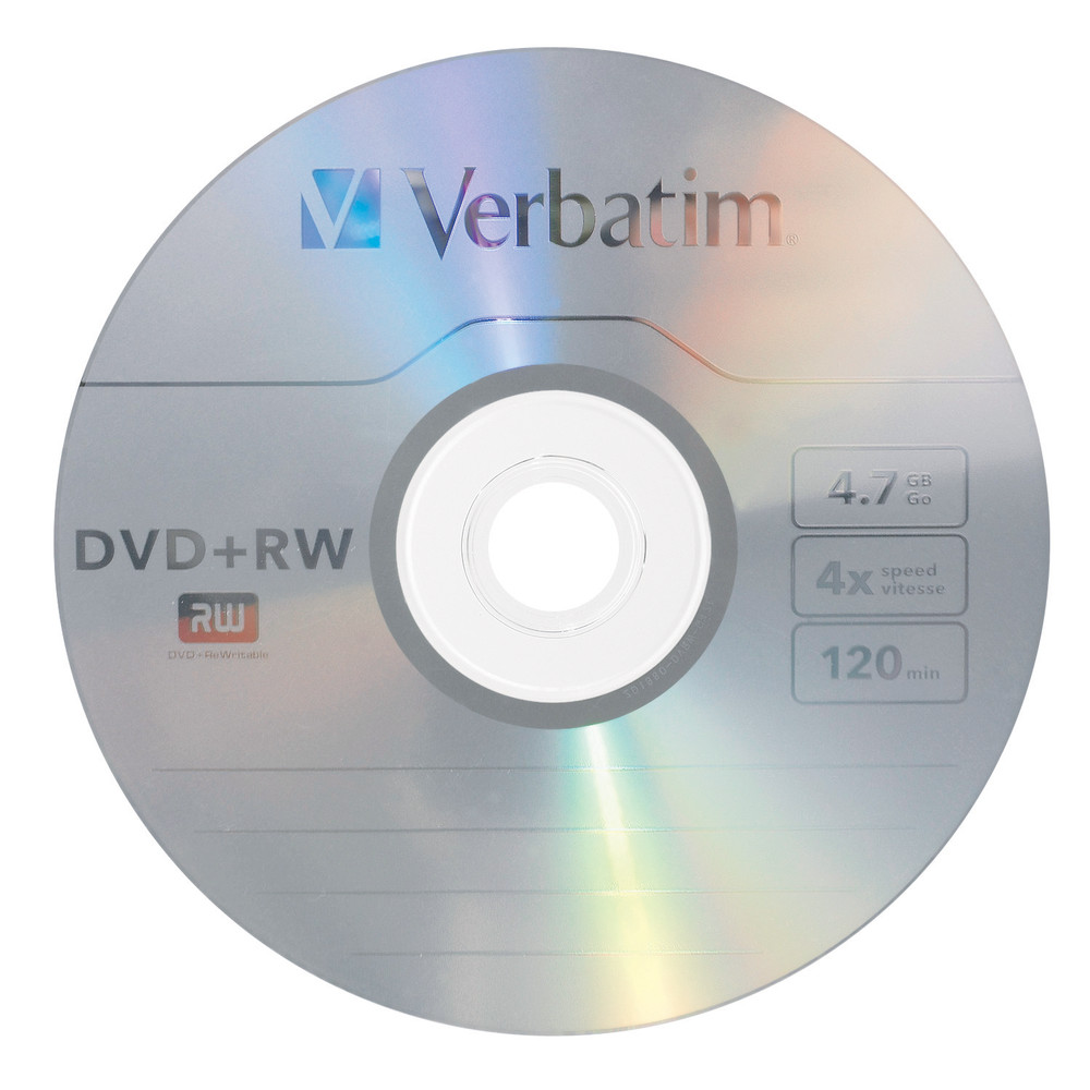 Verbatim dvd rw 4 7gb 4x with branded surface 30pk spindle 4 7gb - Dvd Rw 4 7gb 4x With Branded Surface 30pk Spindle Dvd Rw Dvd Verbatim