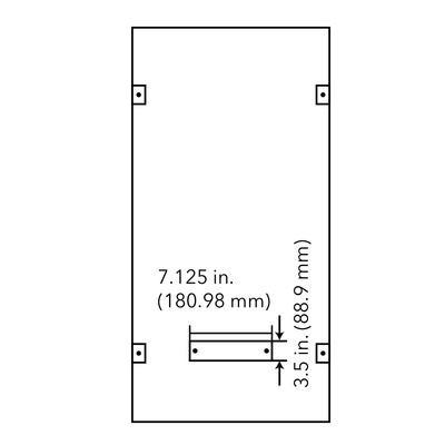 99908-2 ft. x 4 ft. 4000K, 40W LED Edge Lit Flat Panel