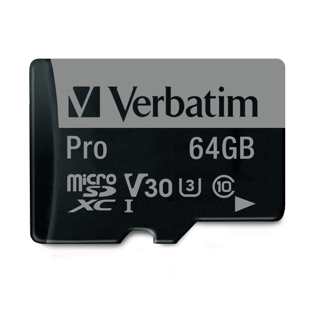 64gb Pro 600x Microsdxc Memory Card With Adapter Uhs I V30 U3 Class Micro Sd Samsung 64 Gb Roll Over Image To Zoom