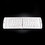 White Bluetooth Mobile Keyboard - Head On